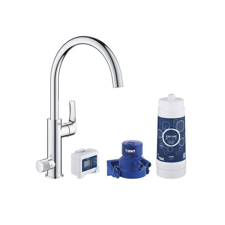 Grohe Blue Pure BauCurve Starter kit 30385 000 Cromo