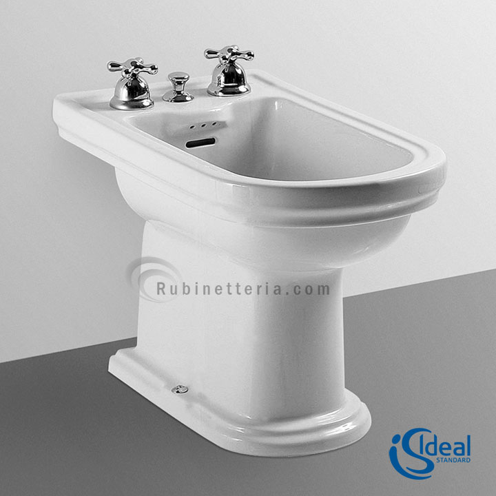 ideal standard bidet a terra ceramica calla t511461. Black Bedroom Furniture Sets. Home Design Ideas
