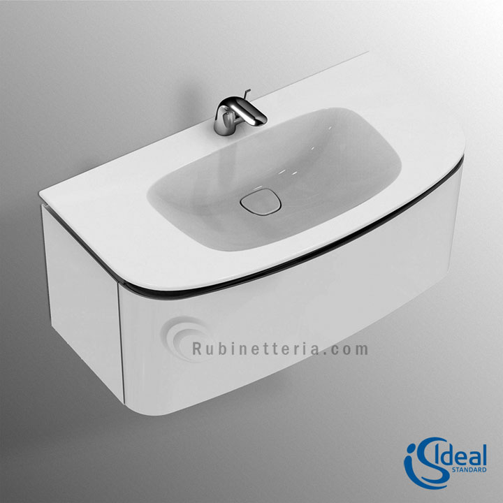 IDEAL STANDARD lavabo ceramica top 1000 con mobile DEA T7852S7