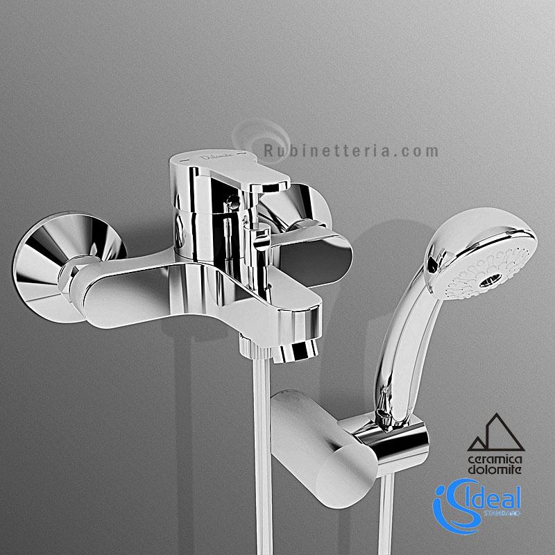 Rubinetto Vasca Ideal Standard.Ideal Standard Miscelatore Vasca Esterno Completo Gemma 2 B0803aa
