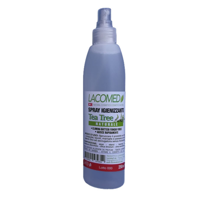 Lacomed Spray igenizzante al Tea Tree da 250 ml