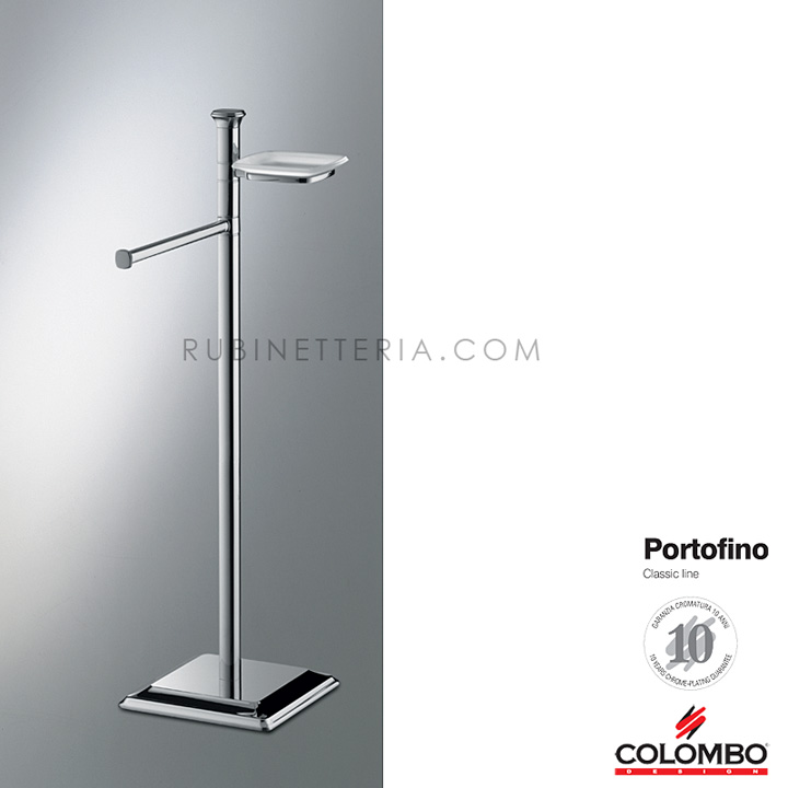 Colombo piantana cm 73 portofino b3219 for Piantana bagno colombo