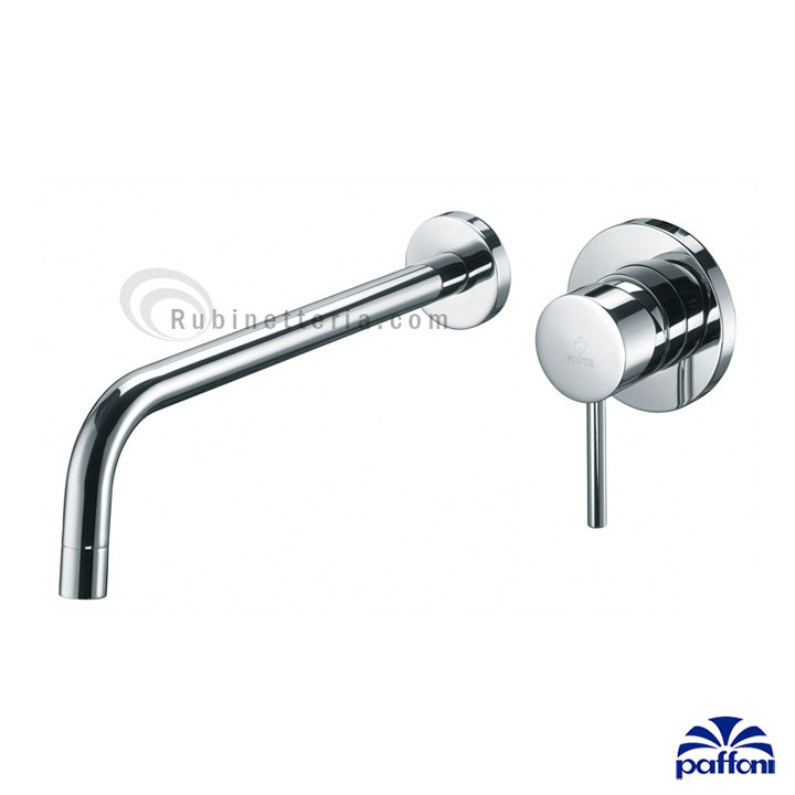 PAFFONI miscelatore lavabo a muro- LIGHT LIG007CR80