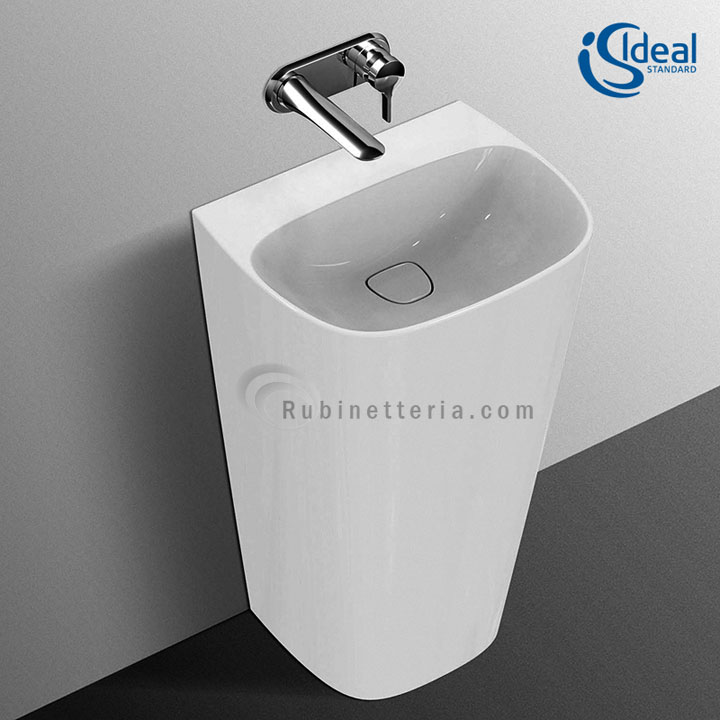 ideal standard lavabo ceramica totem dea t085201. Black Bedroom Furniture Sets. Home Design Ideas
