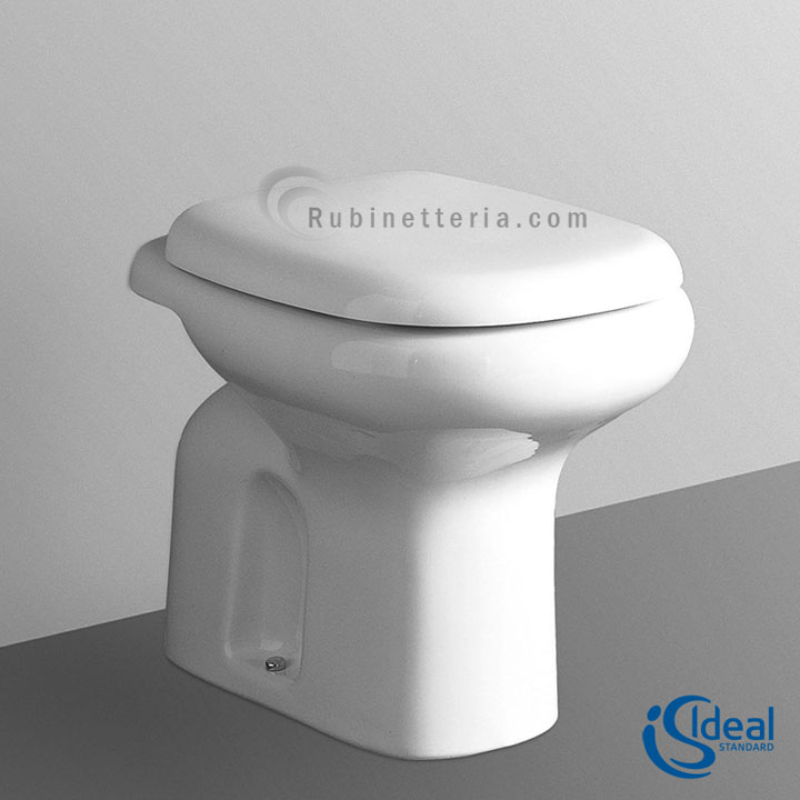 Ideal standard vaso a terra ceramica tesi classic t303661 for Miscelatori ideal standard vecchi modelli