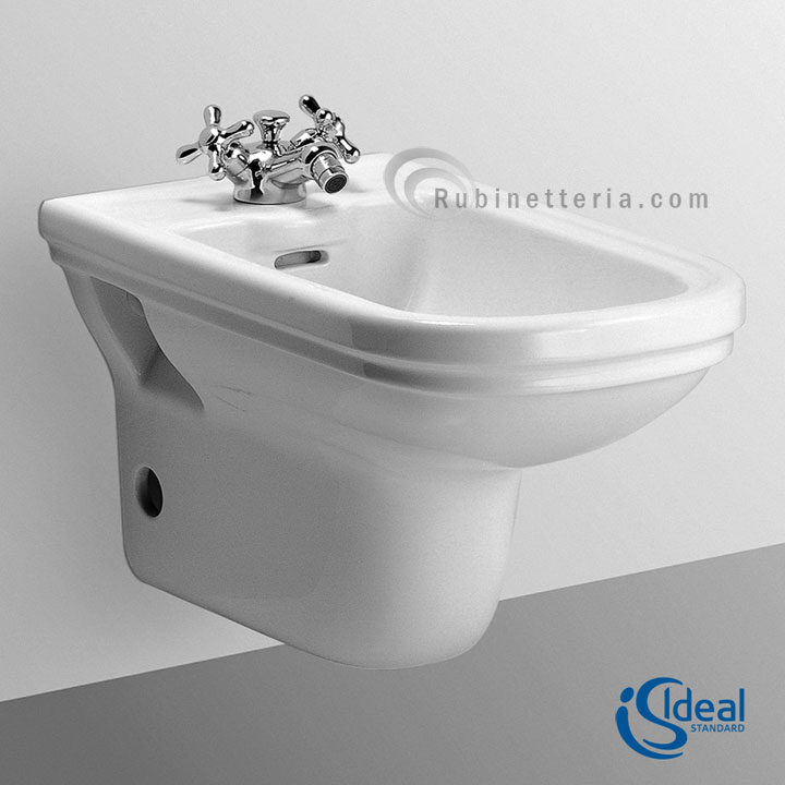 ideal standard bidet sospeso ceramica calla t505461. Black Bedroom Furniture Sets. Home Design Ideas